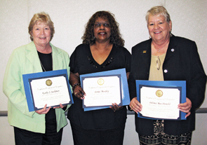 UNAC Leaders Honored