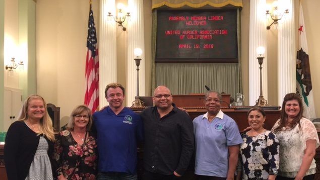 UNAC/UHCP Delegation in Sacramento April 2016